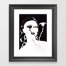 Portrait 35 Framed Art Print