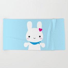 Super Cute Kawaii Bunny Beach Towel