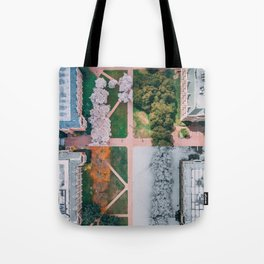 UW Cherry Blossoms: 4 Seasons Tote Bag