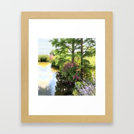 Hyde Hall in the blush of a summer Framed Art Print