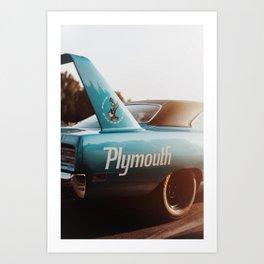 Plymouth RoadRunner Art Print