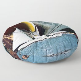 Orbital Sailing Floor Pillow