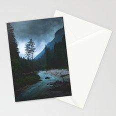 Landscape Mood #creek Stationery Cards