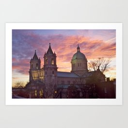 Cathedral of the Sacred Heart Art Print