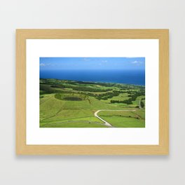 Sao Miguel, Azores Framed Art Print