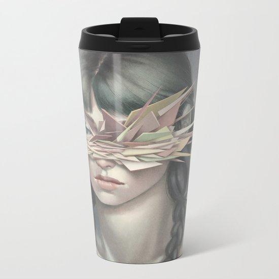 Vertices 03 Metal Travel Mug