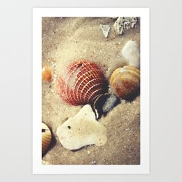 Listen to the Waves Art Print