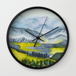 Vallée Wall Clock
