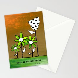 """""""Dare To Be Different"""" Original design by PhillipaheART Stationery Cards"""