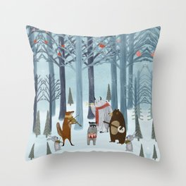 nature symphony Throw Pillow