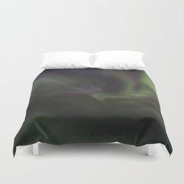 Aurora corona Duvet Cover