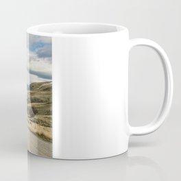 The Road to Snowy Mountains Coffee Mug