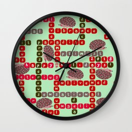 Happy Holidays! 2018 Wall Clock