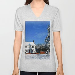 Wondrous Winter Unisex V-Neck