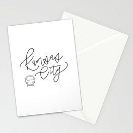 Kansas City Streetcar Stationery Cards