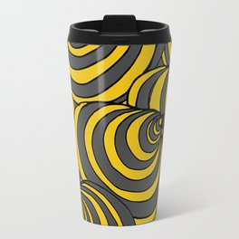 Circles Again and Agan Travel Mug