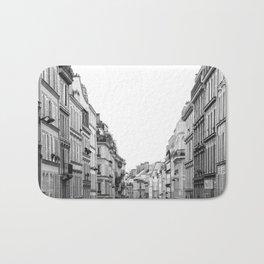 Street in Paris Bath Mat