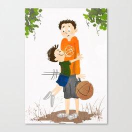 The Hug! Canvas Print
