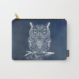 Warrior Owl Night Carry-All Pouch