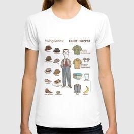 SWING SERIES: LINDY HOPPER (male) T-shirt