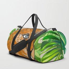 Tropical Leo Duffle Bag