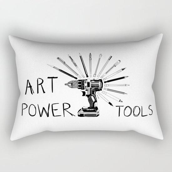 Art Power Tools Rectangular Pillow
