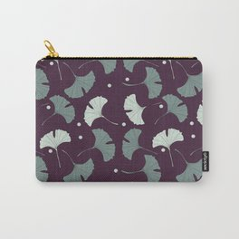 Blue gingko biloba Carry-All Pouch