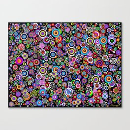Spots (Version 7) by Bruce Gray Canvas Print