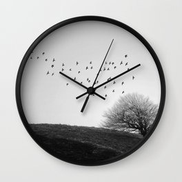 Blaen Bran, Cwmbran, South Wales, UK - 04 Wall Clock