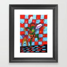 Dance Time Framed Art Print
