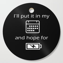 Hope For Energy Cutting Board