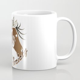 Warrior Society (Horse) Coffee Mug