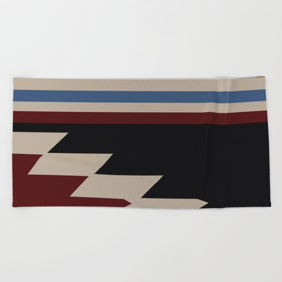 American Native Pattern No. 47 Beach Towel