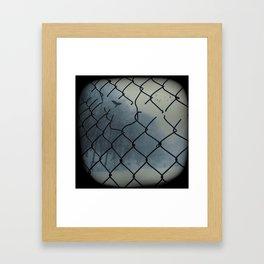 indestructible distance Framed Art Print