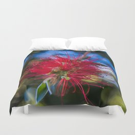 Bottlebrush Rush Duvet Cover