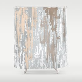 Grey brown Colors Gradient pattern.  light-grey, modern, decor, Society6 Shower Curtain