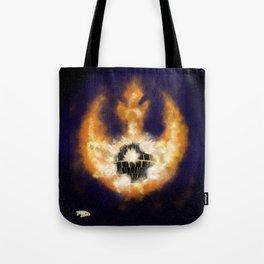 Death Star Destruction Tote Bag