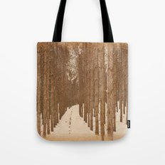 Single File  Tote Bag