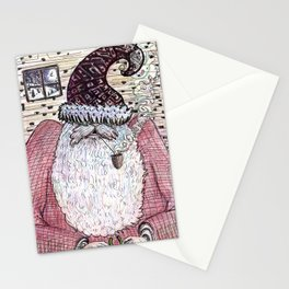 A Present for Mrs. Claus Stationery Cards