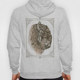 Buffalo Portrait Hoody