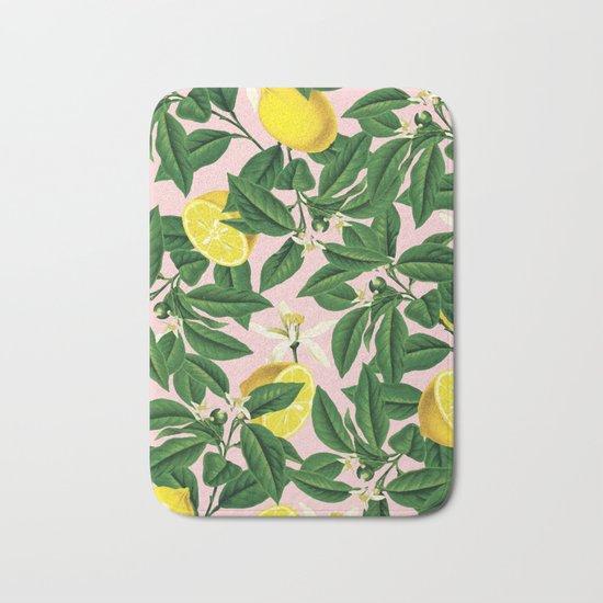 Lemonade #society6 #decor #buyart Bath Mat