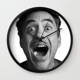 Robert downey jr Wall Clock