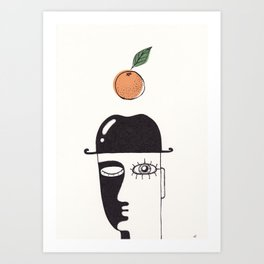 clockwork orange Art Print