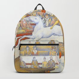 "Georges Seurat ""The Circus"" Backpack"