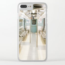Subway Stories, NYC Clear iPhone Case