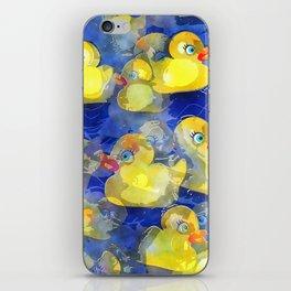 Rubber Ducks iPhone Skin