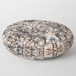 Reflecting Pollock Floor Pillow