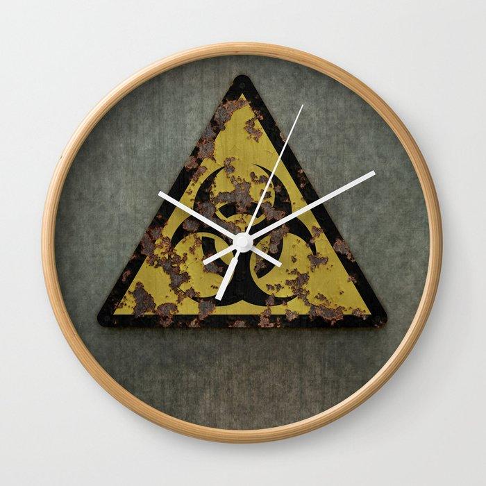 Biohazard Wall Clock