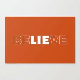 The Word Inception I Canvas Print