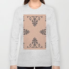 Rococo Floral Elements I Long Sleeve T-shirt